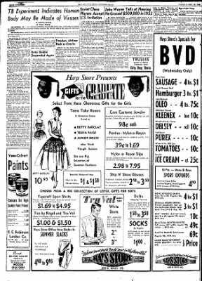The Courier News from Blytheville, Arkansas on May 19, 1953 · Page 7