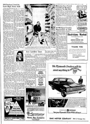The evening news from sault sainte marie michigan on november 11 the evening news from sault sainte marie michigan on november 11 1966 page 3 m4hsunfo