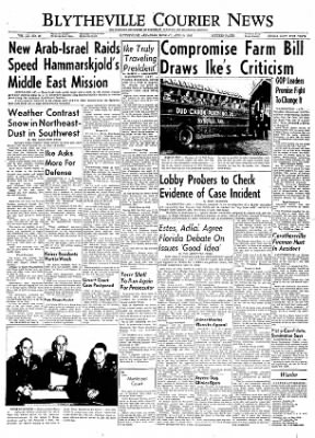 The Courier News from Blytheville, Arkansas on April 9, 1956 · Page 1