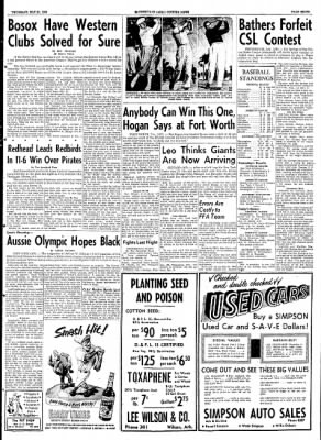 The Courier News from Blytheville, Arkansas on May 21, 1953 · Page 7