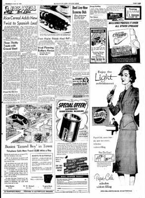 The Courier News from Blytheville, Arkansas on May 21, 1953 · Page 9
