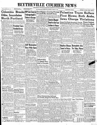 The Courier News from Blytheville, Arkansas on June 11, 1948 · Page 1