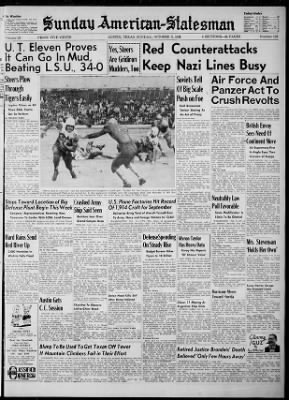The Austin American from Austin, Texas on October 5, 1941 · 1