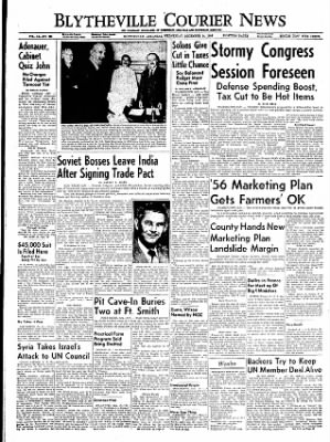 The Courier News from Blytheville, Arkansas on December 14, 1955 · Page 1