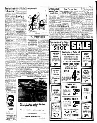 Ironwood Daily Globe from Ironwood, Michigan on July 12, 1965 · Page 7