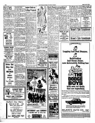 Ironwood Daily Globe from Ironwood, Michigan on May 7, 1965 · Page 2