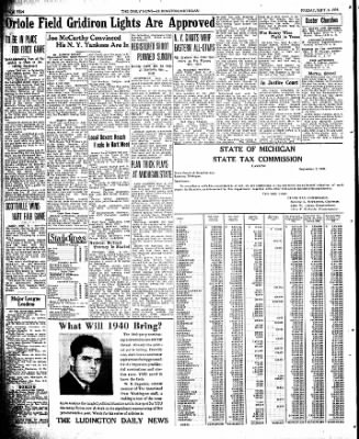 The Ludington Daily News from Ludington, Michigan on September 8, 1939 · Page 10