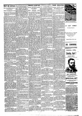 The Carroll Sentinel from Carroll, Iowa on March 23, 1894 · Page 5