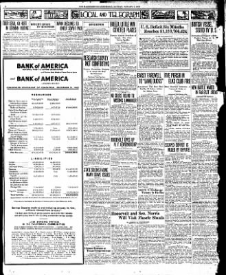 The Bakersfield Californian from Bakersfield, California on January 2, 1933 · Page 2