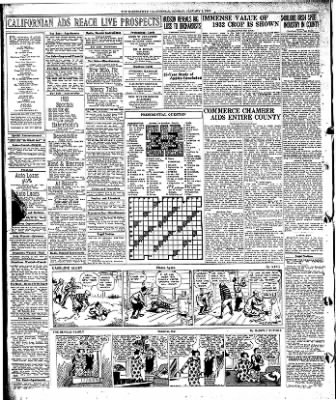 The Bakersfield Californian from Bakersfield, California on January 2, 1933 · Page 14
