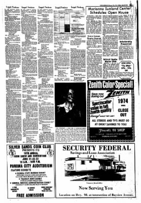 Panama City News-Herald from Panama City, Florida on June 21, 1974 · Page 7