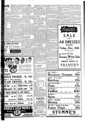 Postville Herald from Postville, Iowa on December 28, 1960 · Page 5