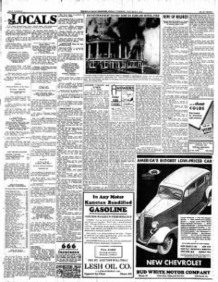 Iola Daily Register And Evening News from Iola, Kansas on January 6, 1933 · Page 3