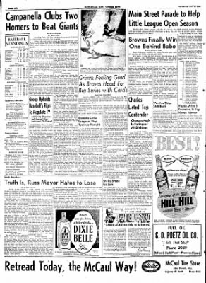The Courier News from Blytheville, Arkansas on May 28, 1953 · Page 6