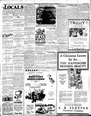 Iola Daily Register And Evening News from Iola, Kansas on December 6, 1927 · Page 3