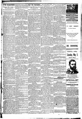 The Carroll Sentinel from Carroll, Iowa on April 13, 1894 · Page 5