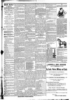 The Carroll Sentinel from Carroll, Iowa on April 13, 1894 · Page 7