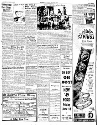 The Courier News from Blytheville, Arkansas on June 16, 1948 · Page 3