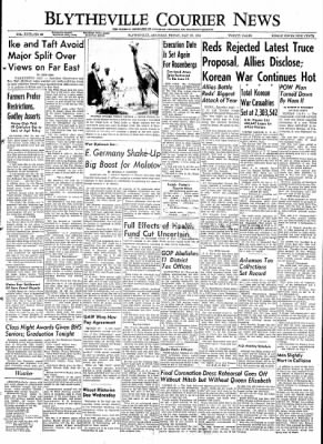 The Courier News from Blytheville, Arkansas on May 29, 1953 · Page 1