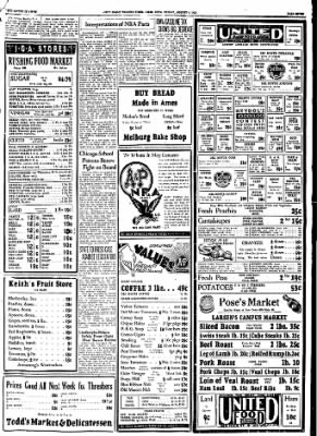 Ames Daily Tribune from Ames, Iowa on August 4, 1933 · Page 9