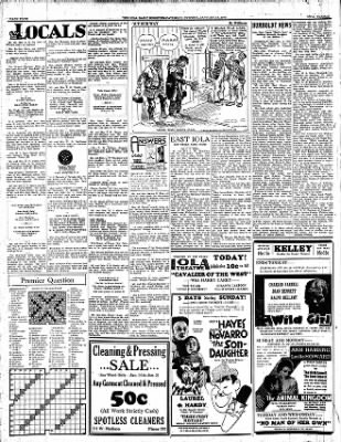 Iola Daily Register And Evening News from Iola, Kansas on January 14, 1933 · Page 4