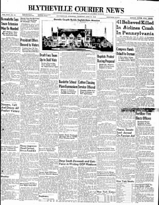 The Courier News from Blytheville, Arkansas on June 17, 1948 · Page 1