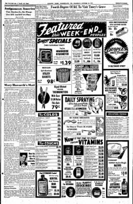 Cumberland Evening Times from Cumberland, Maryland on October 20, 1955 · Page 23