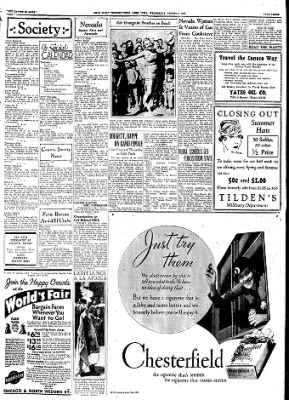 Ames Daily Tribune from Ames, Iowa on August 9, 1933 · Page 6