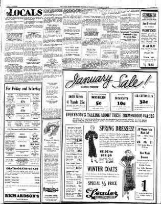 Iola Daily Register And Evening News from Iola, Kansas on January 19, 1933 · Page 3