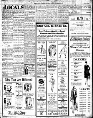 Iola Daily Register And Evening News from Iola, Kansas on December 15, 1927 · Page 3