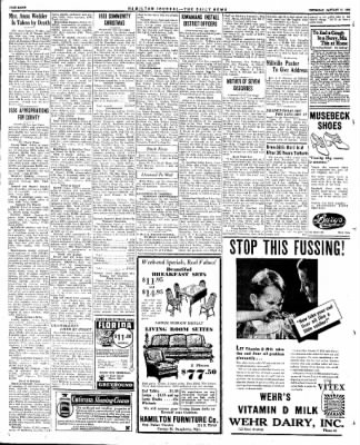 The Journal News from Hamilton, Ohio on January 11, 1934 · Page 8