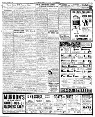 The Journal News from Hamilton, Ohio on January 11, 1934 · Page 9