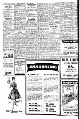 Postville Herald from Postville, Iowa on March 1, 1961 · Page 2