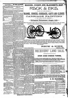 The Carroll Sentinel from Carroll, Iowa on May 11, 1894 · Page 8