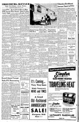 Cumberland Evening Times from Cumberland, Maryland on October 24, 1955 · Page 6