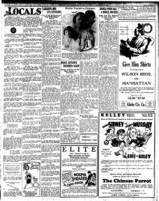 Iola Daily Register And Evening News from Iola, Kansas on December 17, 1927 · Page 3