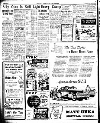 The Ludington Daily News from Ludington, Michigan on September 26, 1939 · Page 10