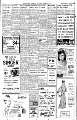 Cumberland Evening Times from Cumberland, Maryland on October 25, 1955 · Page 6