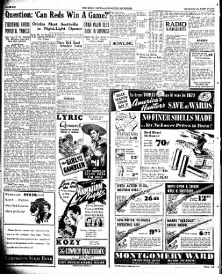 The Ludington Daily News from Ludington, Michigan on September 27, 1939 · Page 6