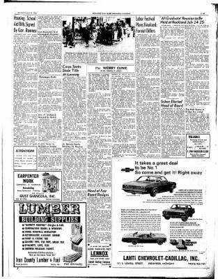 Ironwood Daily Globe from Ironwood, Michigan on July 17, 1965 · Page 13
