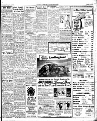 The Ludington Daily News from Ludington, Michigan on September 28, 1939 · Page 3