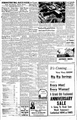 Cumberland Evening Times from Cumberland, Maryland on October 25, 1955 · Page 13