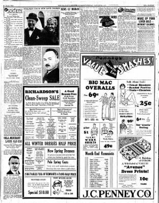 Iola Daily Register And Evening News from Iola, Kansas on January 26, 1933 · Page 2