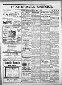 Sample Clarksdale Banner front page