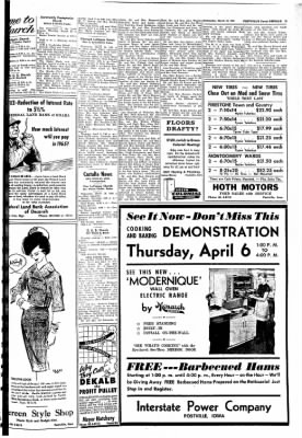 Postville Herald from Postville, Iowa on March 29, 1961 · Page 5