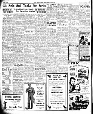 The Ludington Daily News from Ludington, Michigan on September 29, 1939 · Page 10