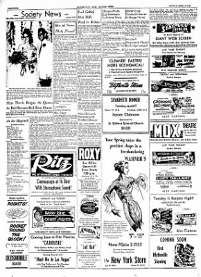 The Courier News from Blytheville, Arkansas on April 16, 1956 · Page 4