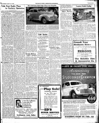 The Ludington Daily News from Ludington, Michigan on September 30, 1939 · Page 5