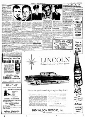 The Courier News from Blytheville, Arkansas on April 16, 1956 · Page 8
