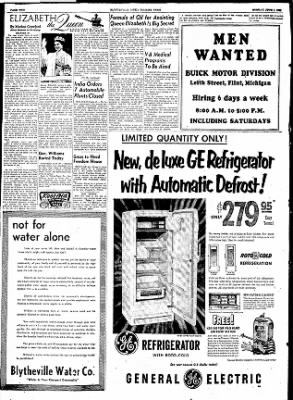 The Courier News from Blytheville, Arkansas on June 1, 1953 · Page 2